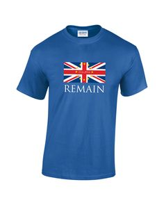 ba7830ad BREXIT IN Vote Remain Stronger In Europe Mens Funny Topical T-Shirt