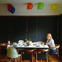 balloons hanging