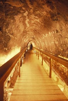 ✮ Excavations of the ancient water tunnel at Tel Meggido, Israel
