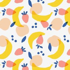 Jen b. Jen b. Art And Illustration, Illustration Inspiration, Pattern Illustration, Illustrations, Summer Patterns, Pretty Patterns, Textile Prints, Textile Patterns, Textile Pattern Design