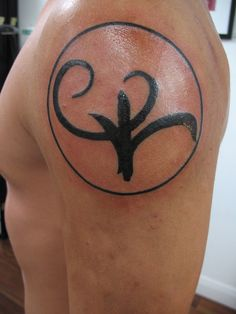 greek symbol for strength.. everyone needs a daily reminder of the strength they possess on the inside. Even when things look tough.