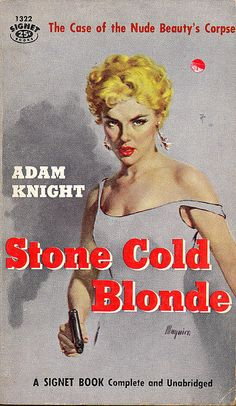 Stone Cold Blonde by Biff Bang Pow, via Flickr