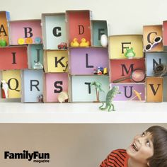 Alphabet Museum: Here's a hands-on way to boost early literacy skills and get your child ready for a lifetime of reading adventures.