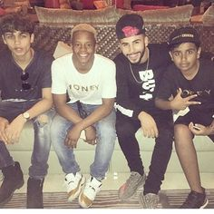 It was great having @officialharrisj @adamsaleh @princesilento at the farm ✌🏾️#moneykicks #vlog #coming #soon #summer
