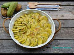 Patate e zucchine gratinate al parmigiano - Ricette che Passione - YouTube