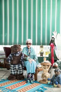 Iris Apfel's New Collaboration Is Seriously Adorable via @WhoWhatWear