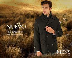 Elige bien y renuévate en esta temporada con un #abrigo en tono oscuro para proyectar sobriedad. #Nuevo #OutDoorsStyle