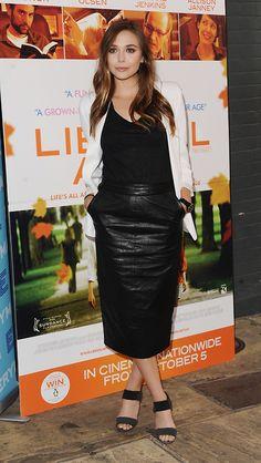 Elizabeth Olsen. TopShelfClothes.com