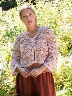 Tucker | Berroco Alison Green, Tunic Tops, Bolero Crochet, Crochet Sweaters, Pattern, Ravelry, Women, Fashion, Crochet Batwing Tops