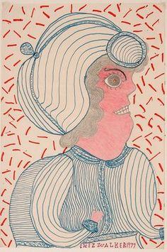Inez Nathaniel Walker. Woman In Profile.