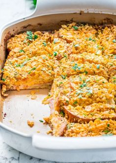 This Christmas Morning Wife Saver is the perfect casserole for Christmas morning made with ham and cheese and topped with cornflakes.