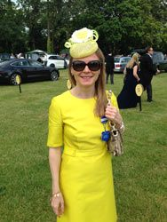Customer Photos From Ascot 2014 - Holly Fascinator | Talking Fascinators | A Blog From Hatsnstuff UK