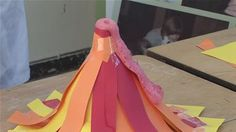Garret Francis from Working Science shows you how to make an awesome paper  volcano that actually erupts using the chemical reaction betw. efa541c69a08
