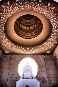 Sheikh Zayed Grand Mosque in Abu Dhabi | ©Hisham Binsuwaif