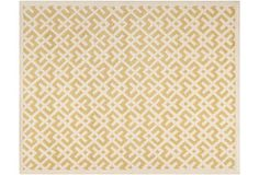 8'x10' Solange Rug, Light Gold/Ivory on OneKingsLane.com