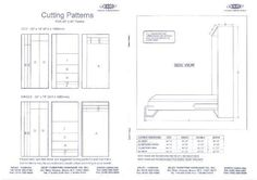 Moddi murphy bed plans free my rv remodel ideas pinterest bed murphy bed plans plans for a murphy bed solutioingenieria Images