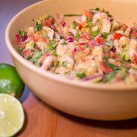 Recipe] Skinny Shrimp Salsa