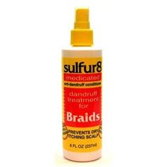 Sulfur-8 Dandruff Treat. For Braids 12oz Bonus Spray (6 Pack) * Find out more about the great product at the image link. (This is an Amazon affiliate link)