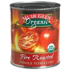 Muir Glen Fire Roasted Petite Diced Tomatoes With Roasted Garlic, oz (Pack of Real Food Recipes, Healthy Recipes, Fire Roasted Tomatoes, Grow Tomatoes, Eating Organic, Roasted Garlic, Organic Recipes, Food Storage, Food Hacks