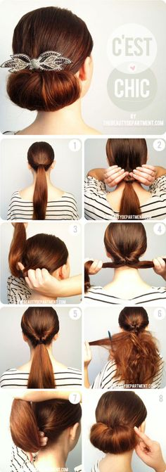 Easy and Fast DIY Hairstyles Tutorials - Fashion Beauty News