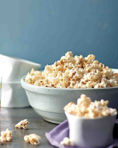 A spiced up snack to celebrate Mardi Gras! #GF Cajun Popcorn from marthastewart.com