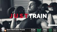 """Buy Sport Motivation Promo by on VideoHive. """"Sport Motivation Promo is an Energetic upbeat paced promotional template for After Effects. Using Dynamic and anima. Sport Motivation, Extreme Workouts, Extreme Fitness, Logo Reveal, Retro Videos, After Effects Projects, Winter Sports, Martial Arts, Cool Photos"""
