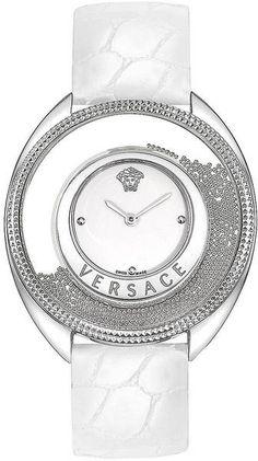Versace Ladies Destiny Spirit Watch in White