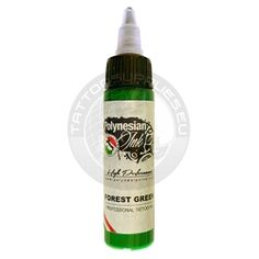 Polynesian Ink Forest Green - Tattoo supplies since 1999