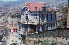 Cerro Playa Ancha, Valparaiso, Chile. Where my heart is.