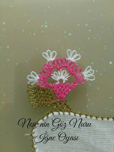 Needle Lace, Tatting, Elsa, Needlework, Diy And Crafts, Embroidery, Salons, Scarves, Knots