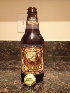 Sierra Nevada – Ruthless Rye  Coming to market soon! Want to try!!!!