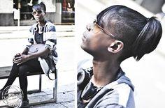 Colita alta y media cabeza rapada, punk y unisex! Toda la onda! #Streethair #SanPablo