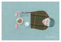 """Wybrane ilustracje z książki """"Maum. Dom duszy"""" autorstwa Heekyoung Kim, ilustrację: Iwona Chmielewska, wydawnictwo Warstwy"""