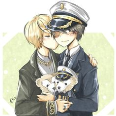 Kyumin - bear kiss by Fuko-chan.deviantart.com on @deviantART