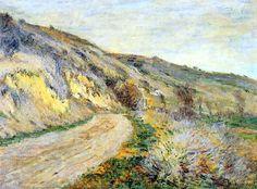La Route de Giverny (C Monet - W 970),1885.