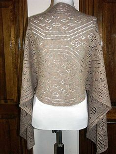 Crochet Patterns For Lace Weight Yarn : Knit lace, Lace shawls and Shawl on Pinterest