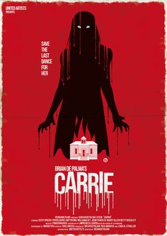 Carrie (1976) - Another Stephen King classic carefully navigated by Brian De Palma. A young, abused and timid 17-year-old girl discovers she has telekinesis, and gets pushed to the limit on the night of her school's prom by a humiliating prank.