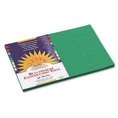 PAPER,CNST,12X18,50PK,EVG