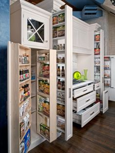 Kitchen Tall Kitchen Larder Cupboard Kitchen With Pantry Cabinet Shallow Kitchen Cupboards Freestanding Pantry Organization for Neat and Attractive Storage