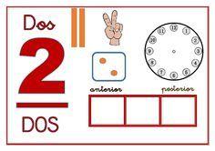 INTERCAMBIO EDUCATIVO Numbers Preschool, Toddler Preschool, Toddler Activities, Preschool Activities, Spanish Activities, Book Activities, Dora, Step Kids, 1st Grade Math
