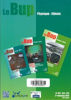 Le BUP n°973-974-975 de 2015. A la BU : http://catalogue.univ-lille1.fr/F/?func=find-b&find_code=SYS&adjacent=N&local_base=LIL01&request=000252270