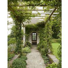 Pergola For Small Backyard Pergola Swing, Pergola Shade, Pergola Patio, Pergola Plans, Pergola Kits, Pergola Ideas, Wisteria Pergola, Landscape Design, Garden Design