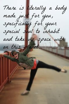 Make it a practice to accept your body just as it is...then dare to LOVE your body! www.jennifermeek.com