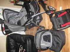 Eddie Bauer travel system stroller car seat and base - $100 (Fayetteville, TN)