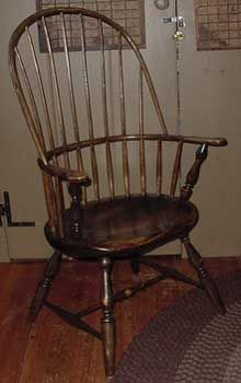 Windsor chair - Wikipedia, the free encyclopedia The history of the Windsor chair, as it might apply to the period/era of my dollhouse.