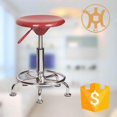 ABS Plastic Swivel Bar Stool with Footrest/Night Club Bar Stool HC-K116-1