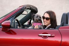 Piper driving with Toni Avery https://www.facebook.com/GirlsDriveFastToo