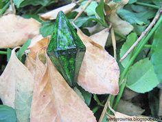 zielony kryształ SIMS #werterownia