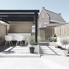 20 Ideas Small Patio Makeover Backyard Ideas For 2019 Backyard Ideas For Small Yards, Small Backyard Landscaping, Small Patio, Backyard Patio, Carport Designs, Pergola Designs, Carport Ideas, Pergola Carport, Carport Garage