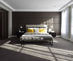 Dark Bedroom Wall Ideas Let s Say No to All-White Rooms Decoration, Decoration İdeas Party, Decoration İdeas, Decorations For Home, Decorations For Bedroom, Decoration For Ganpati, Decoration Room, Decoration İdeas Party Birthday. #decoration #decorationideas Dark Master Bedroom, Dark Bedroom Walls, White Wall Bedroom, White Room Decor, Small Room Bedroom, White Rooms, Bedroom Colors, White Walls, Dream Bedroom